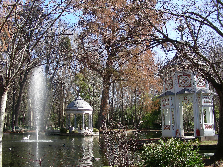 Ahuehuetes de aranjuez arbolesdemadrid for El jardin de aranjuez