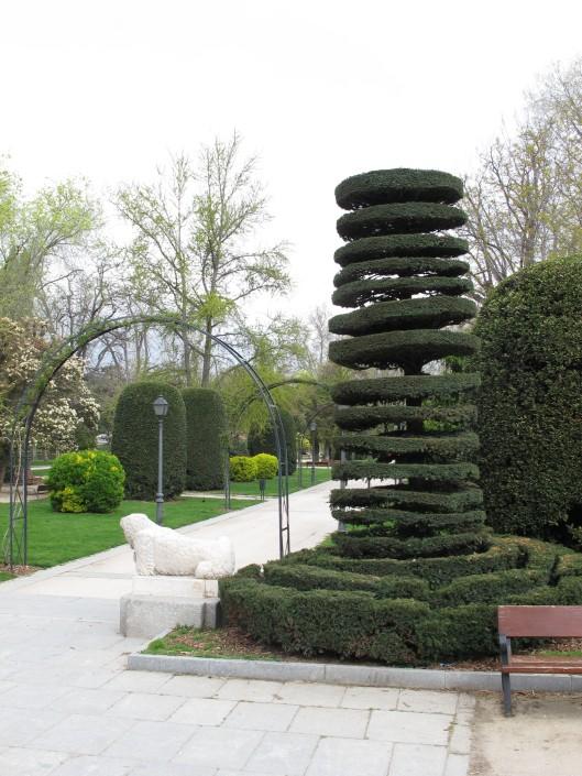 Tejo de los Jardines del Arquitecto Herrero Palacios (Parque del Retiro)
